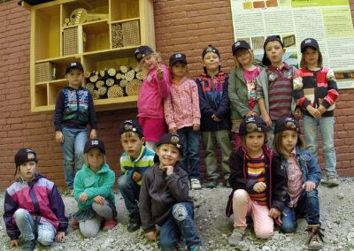 RWE AvO Insektenhotel - Projekt mit Kindern