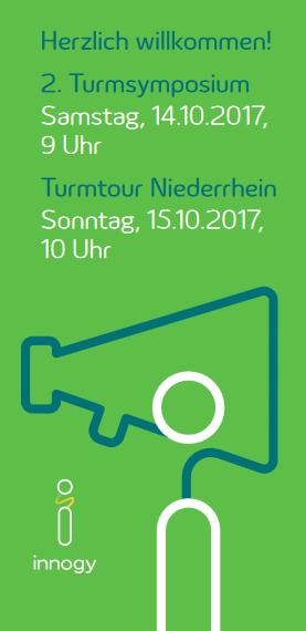 2. Turmsymposium in Weeze 14. und 15. Oktober 2017